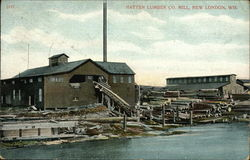 Hatten Lumber Co. Mill Postcard