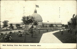 Main Building, State Fair Grounds, Hamline