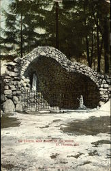 The Grotto, near Chapel of the Woods Postcard