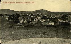 Lusk Wyoming, Showing Reservoir Hill