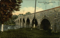 Witmers Bridge, Built 1792