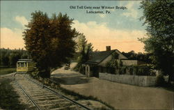 Old Toll Gate Near Witmer Bridge