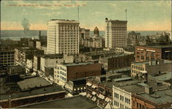 Looking Northeast from Baltimore Hotel Postcard
