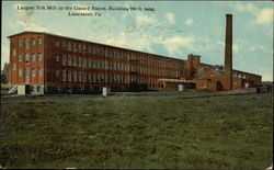 Largest Silk Mill in the United States, Building 900 Ft. Long