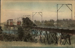 The Allen Line Bridge Postcard