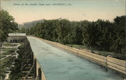 Flume of the Acadia Canal