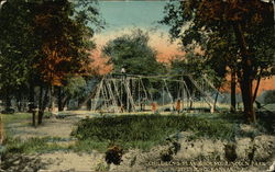 Children's Play Ground, Lincoln Park Postcard