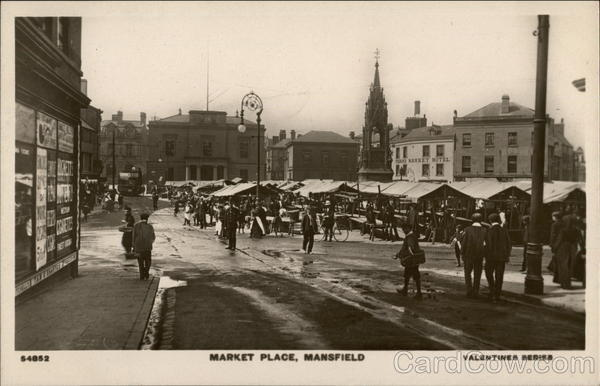 Market Place Mansfield England