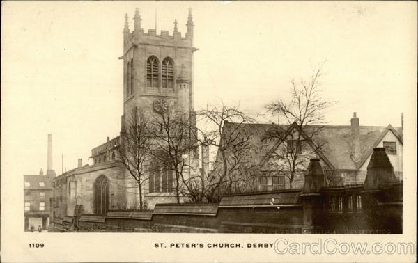 St. Peter's Church Derby England