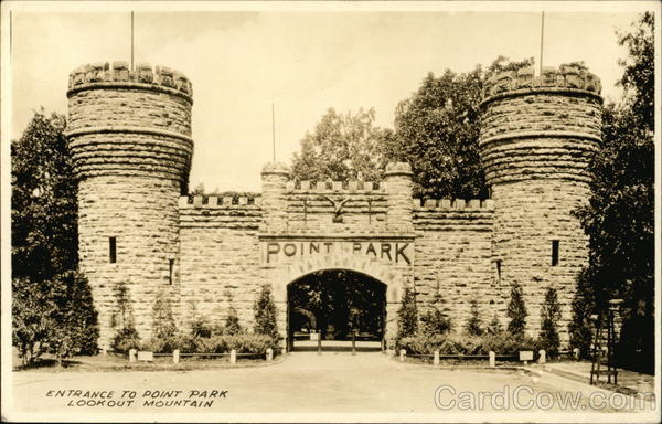 Entrance to Point Park, Lookout Mountain Chattanooga Tennessee