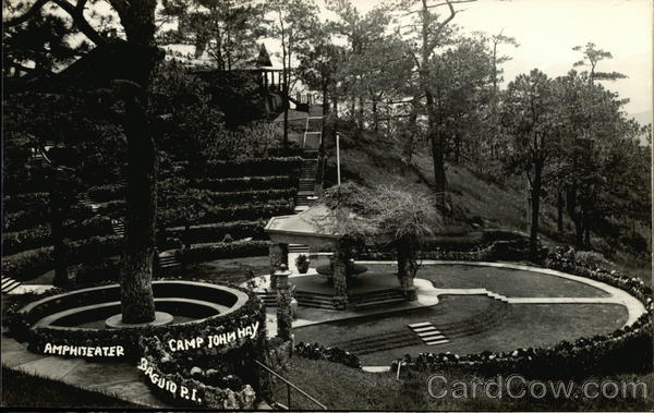 Amphitheater at Camp John Hay Manor Baguio Philippines