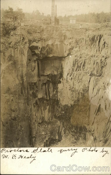 Proctor's Slate Quarry Delta Pennsylvania