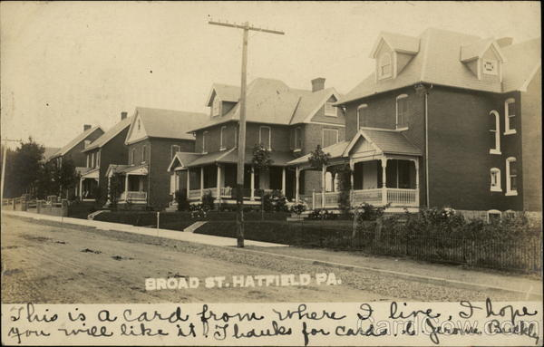 Broad Street Hatfield Pennsylvania