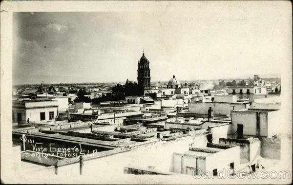General View of the City San Luis Potosi Mexico