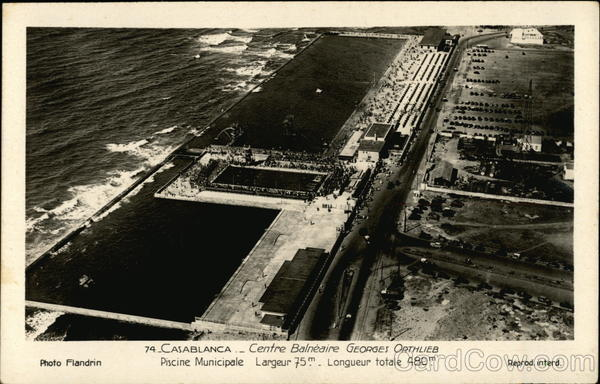 Georges Orthlieb Bathing Centre Casablanca Africa