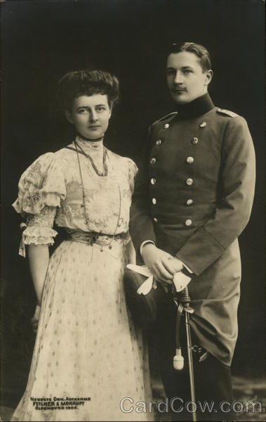 Sophie Charlotte with Eitel Friedrich Oldenburg Germany