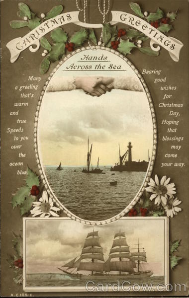 Christmas Greetings, Hands Across the Sea