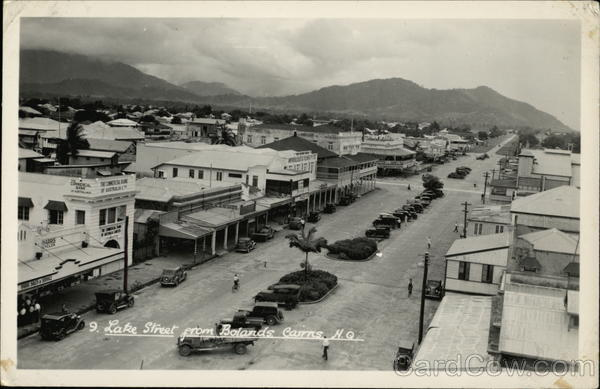 Lake Street from Bolands Cairns Australia