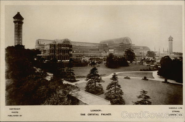 The Crystal Palace London England