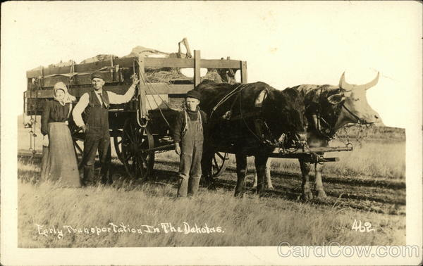 Early Transportation in the Dakotas