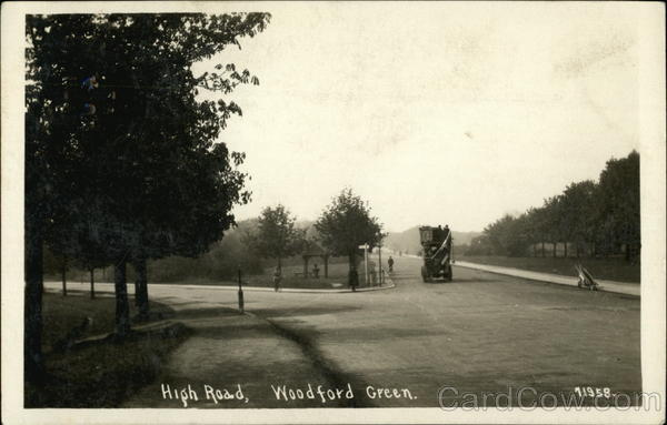 High Road Woodford Green England
