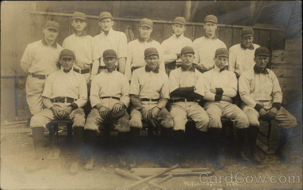 1906 Williamsport Baseball Team Pennsylvania
