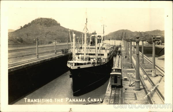 Transiting the Panama Canal Boats, Ships