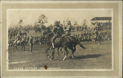 Saber Contest on Horseback at Ft Oglethorpe