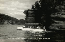 Hawks Bill - Ride the ducks on land and water at Wis. Dells Wis