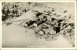 Bird's Eye View of University of Alaska