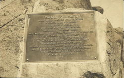 Memorial Plaque of Captian John Smith