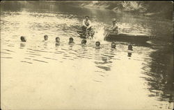 Group of Swimming Boys
