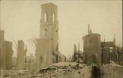 Central Congregational Church of Chelsea After the 1908 Fire