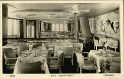 R.M.S. Queen Mary - Grill, Verandah