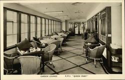 "R.M.S. ""Queen Mary"" Garden lounge"