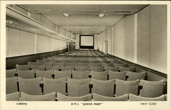 Cinema, R.M.S. Queen Mary, First Class