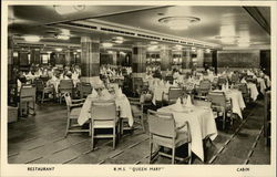 Restaurant R.M.S. Queen Mary Cabin