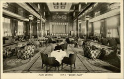 Main Lounge R.M.S. Queen Mary