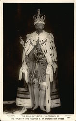 His Majesty King George V in Coronation Robes