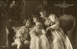 Princess Rupprecht of Bavaria and Children