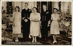 Their Majesties the King & Queen, the Duke & Duchess of Edinburgh, & H.R.H. Princess Margaret