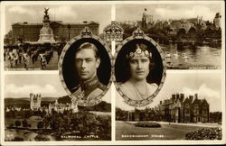 H.M. King George VI and H.M. Queen Elizabeth