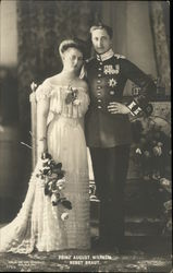 Prinz August Wilhelm with Bride