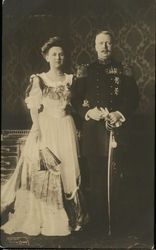 Queen Wilhelmina of the Netherlands and Prince Consort Henry of Mecklenburg-Schwerin