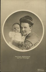 Koningin Wilhelmina and Princess Juliana