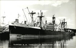 "Turkish S. S. ""Yozgat"" at Searsport, Maine"