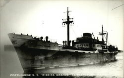 "Portuguese S. S. 'Ribeira Grande"" at Searsport, Maine - 2573"