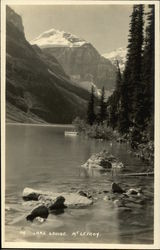 Lake Louise and Mount Lefroy