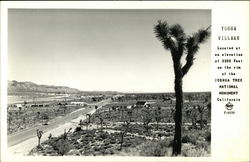 Yucca village located at an elevation of 3300 Feet on the rim of the Joshua Tree National Monument