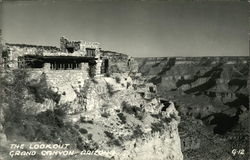 The Lookout at the Grand Canyon